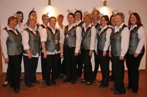 Die Damenelferrätinnen der BCA